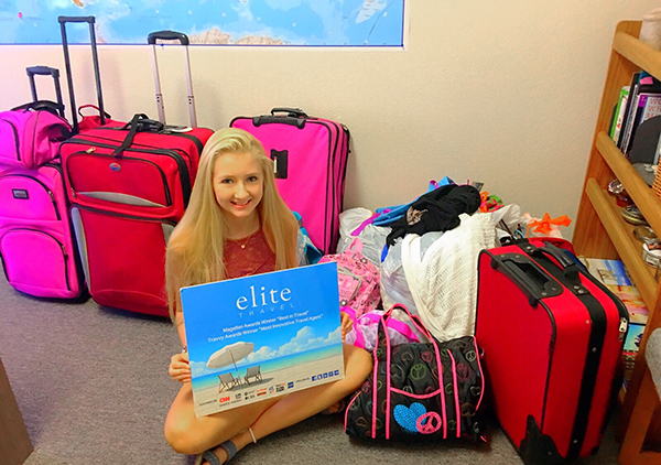 elite travel it's my bag donations